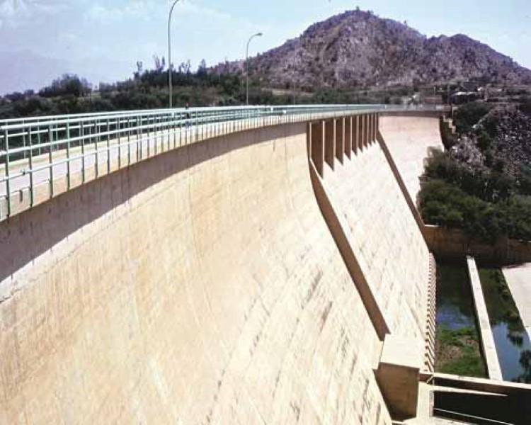 Dams in Southern Region of Saudi Arabia