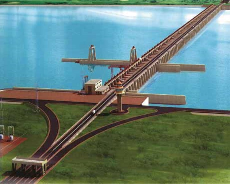 Ganges Barrage Project, Bangladesh